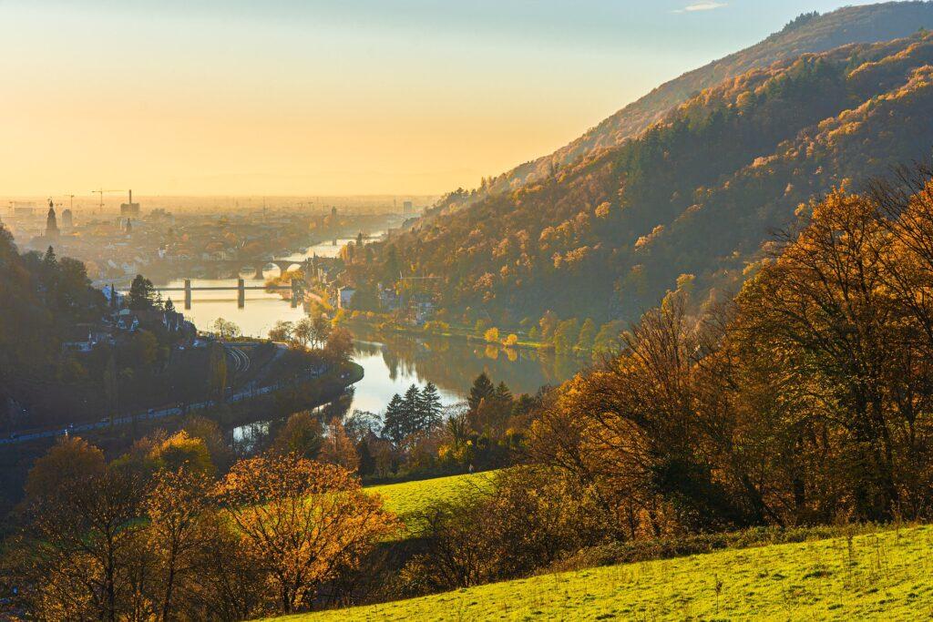 Symbolbild:  Blick über Heidelberg